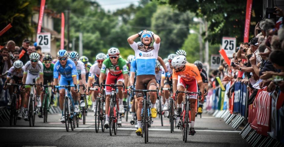 Clément Venturini remporte la 2e étape de la Route d